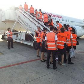 curso azafatas vuelo barcelona