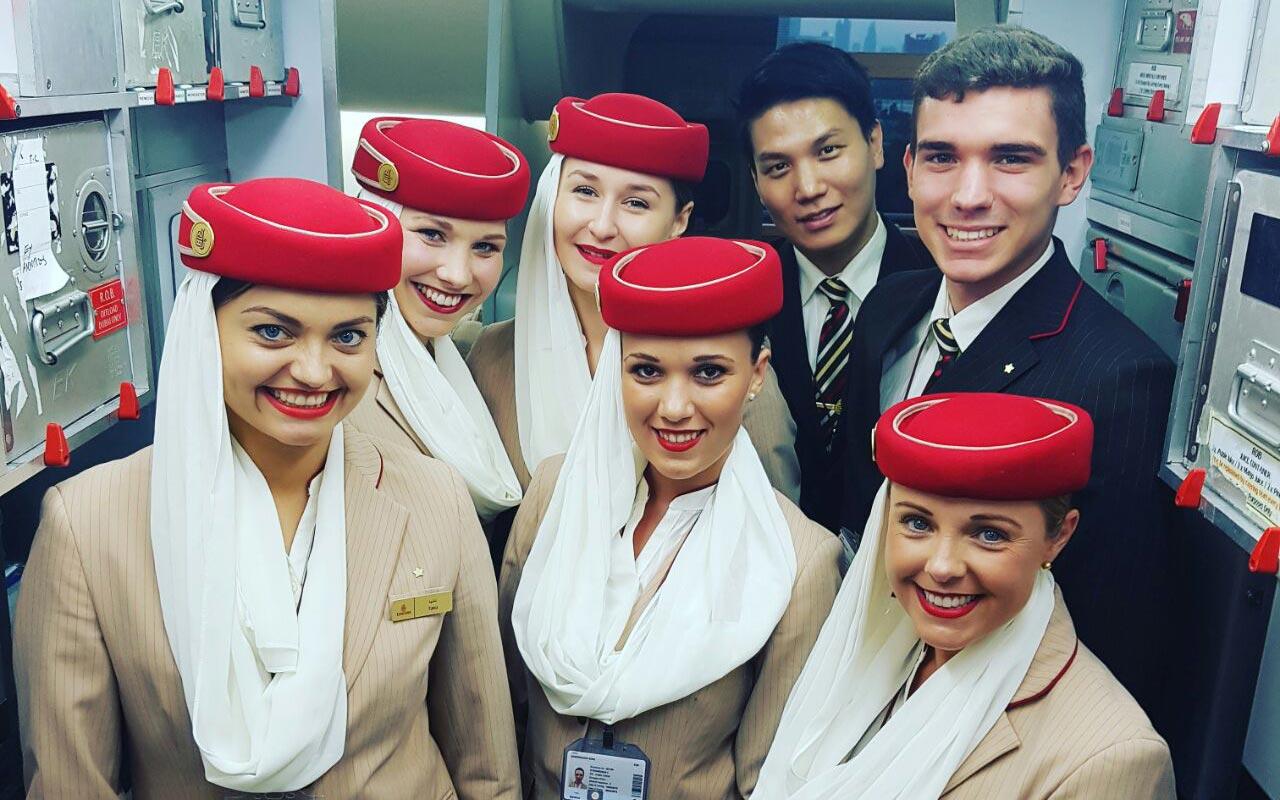 escuela azafatas de vuelo