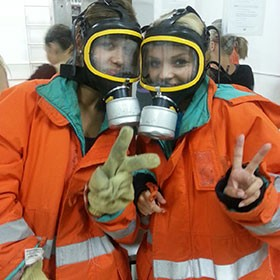 simulación antincendio